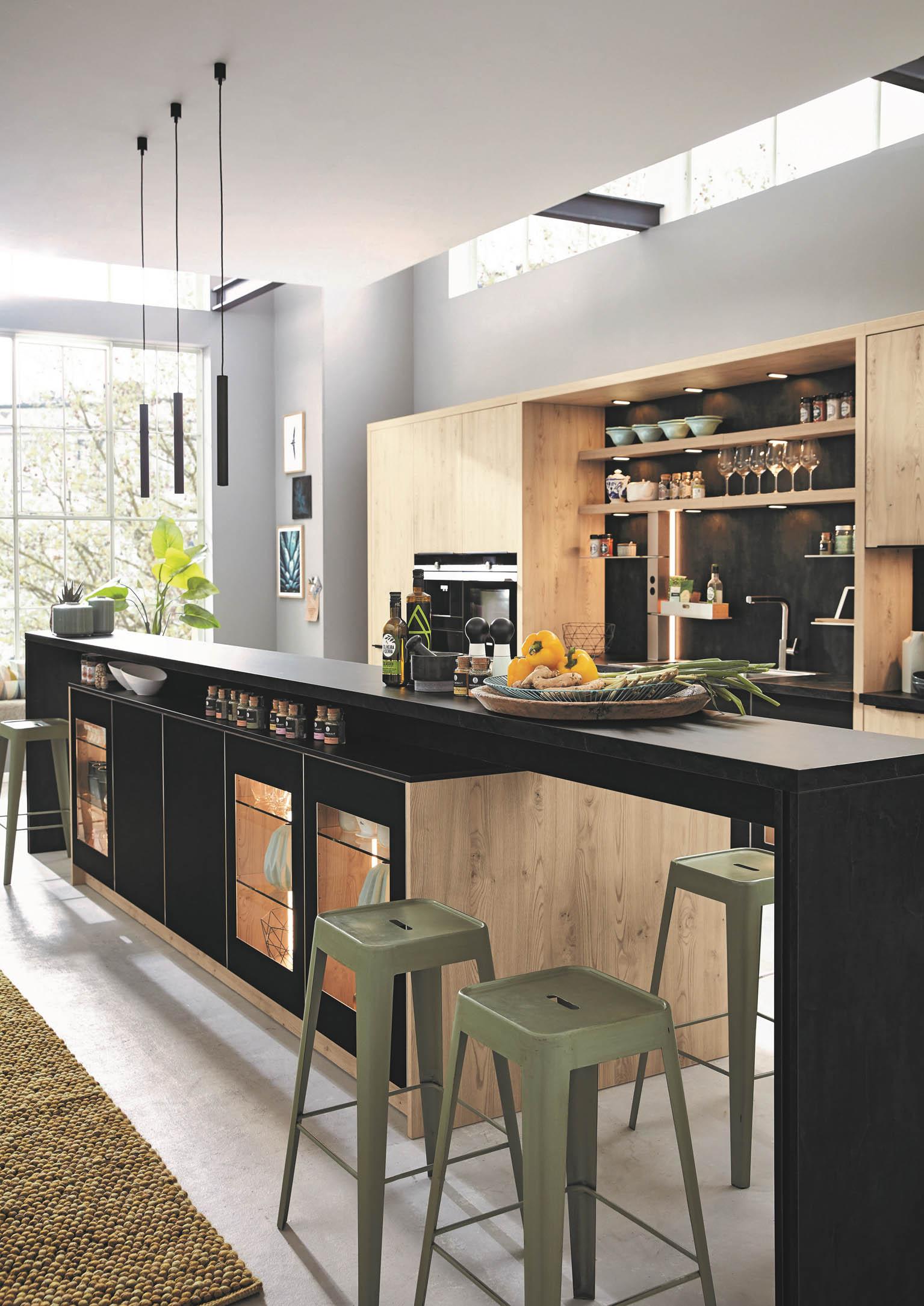 Ob klein oder groß: In einer neuen Küche vereinen sich Form ...